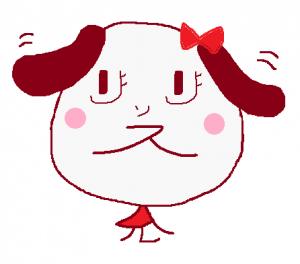 ムシュ子顔白①ノーマル